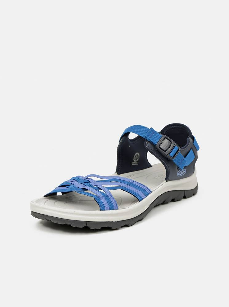 Keen Modré dámske sandále Keen