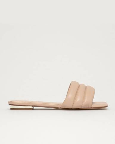 Béžové papuče Aldo