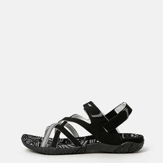 Čierne dámske sandále LOAP Caipa