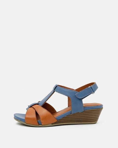 Modré topánky wild