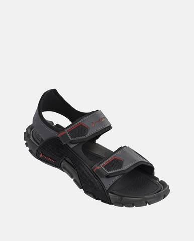 Sivé sandále Rider
