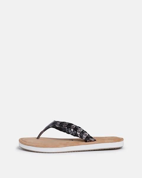 Čierne papuče Tamaris