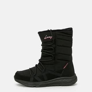 Čierne dámske zimné topánky LOAP
