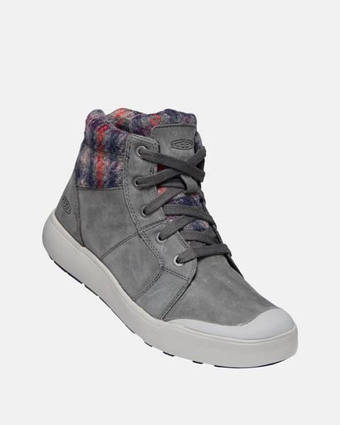 Sivá zimná obuv Keen