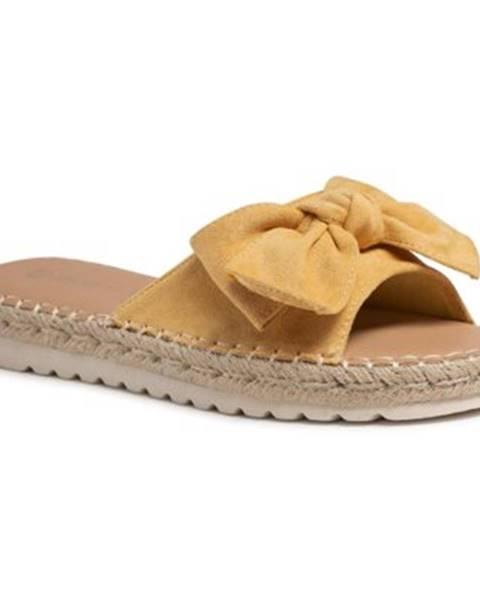 Žlté topánky Jenny Fairy