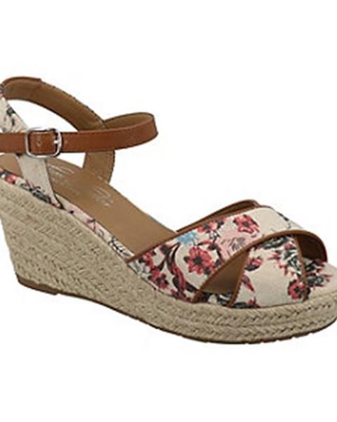 Béžové sandále Tom Tailor