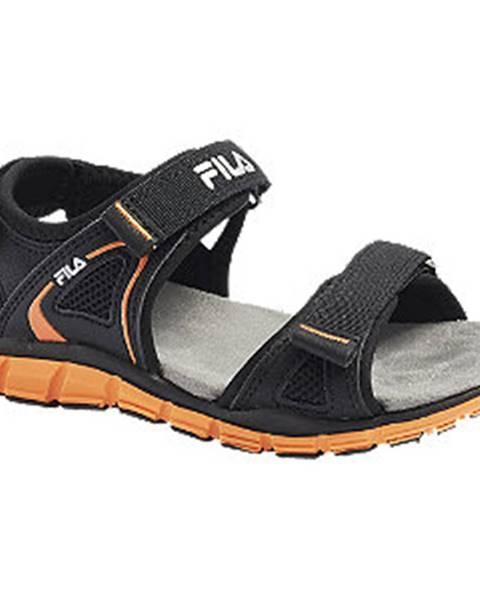 Čierne sandále Fila