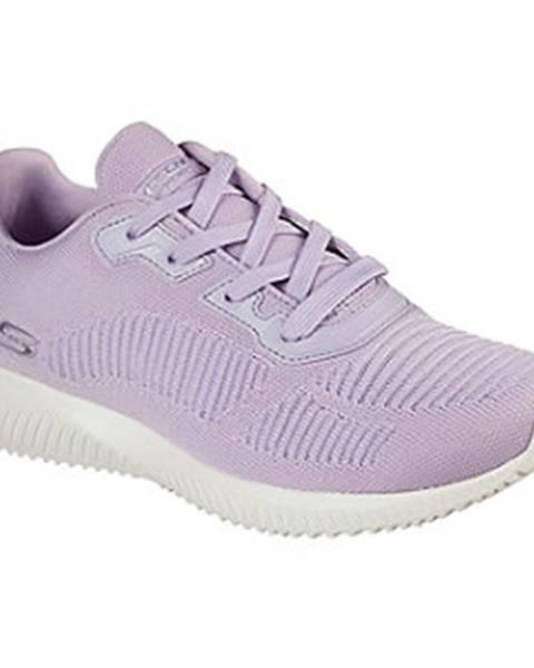 Fialové tenisky Skechers