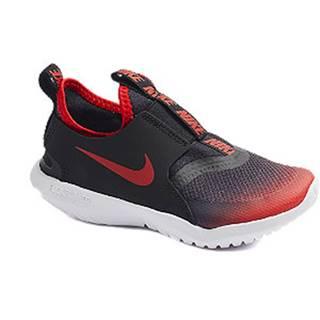 Čierno-červené slip-on tenisky Nike Flex Runner
