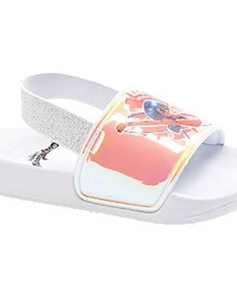 Biele sandále Miraculous