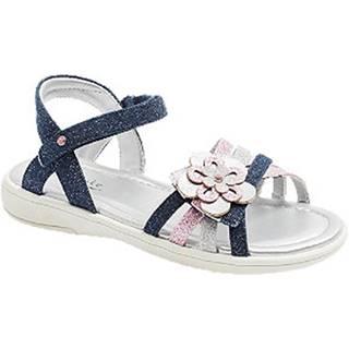 Tmavomodré sandále na suchý zips Cupcake Couture