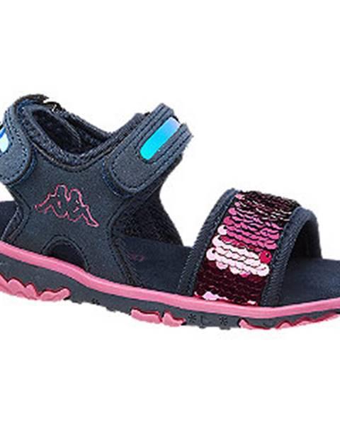 Tmavomodré sandále Kappa