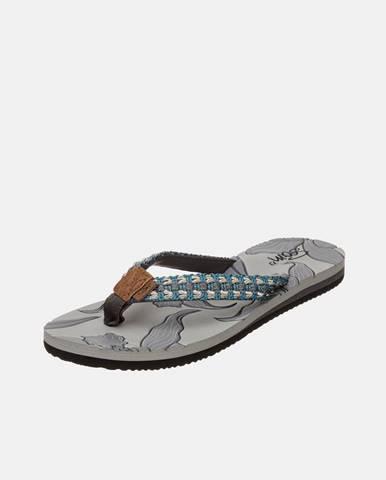 Sivé papuče SAM 73