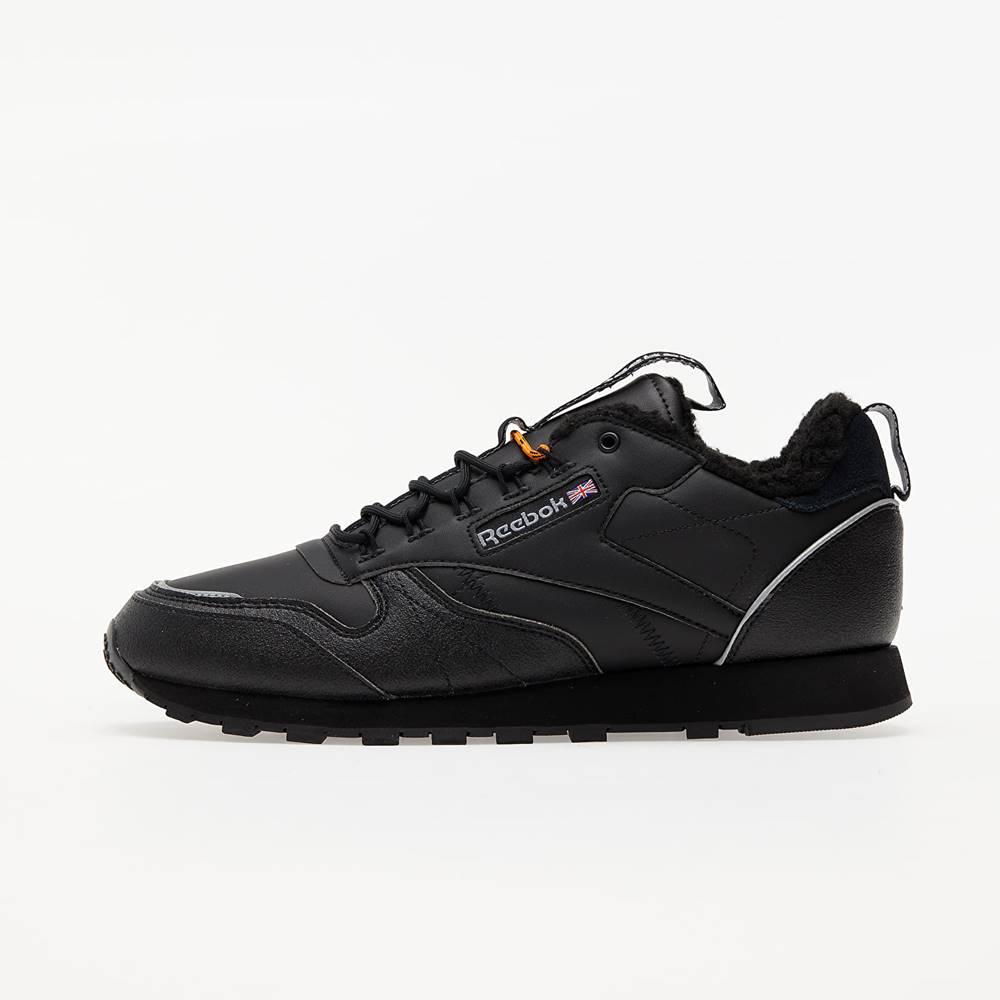 Reebok Reebok Classic Leather MU Black/ Black/ High Vivid Orange