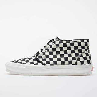 Vans Vault OG Chukka LX (Canvas/ Checkerboard) Black/ White