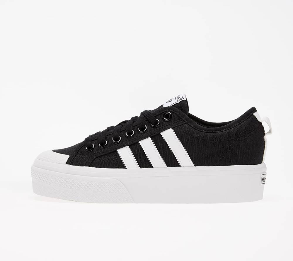 adidas Originals adidas Nizza Platform W Core Black/ Ftw White/ Ftw White