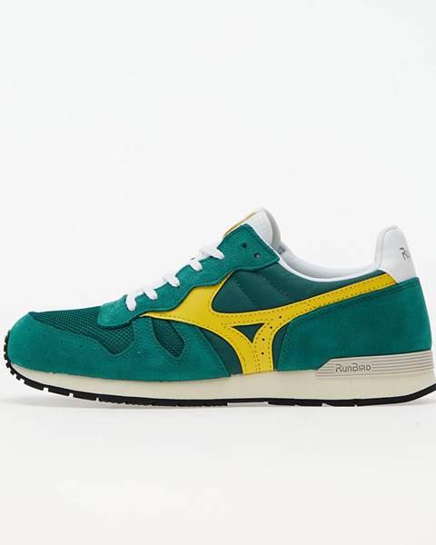 Zelené tenisky Mizuno