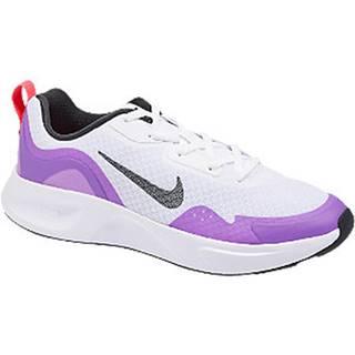 Bielo-fialové tenisky Nike Wearallday
