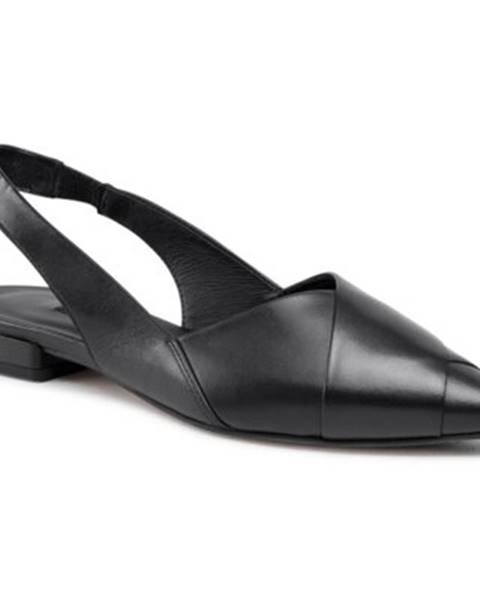 Čierne balerínky Gino Rossi