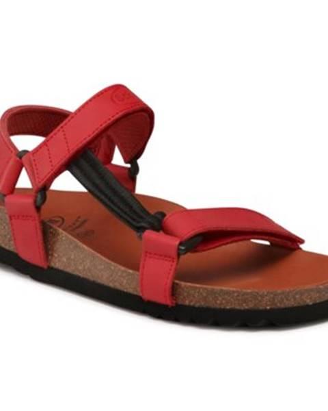 Červené sandále Scholl