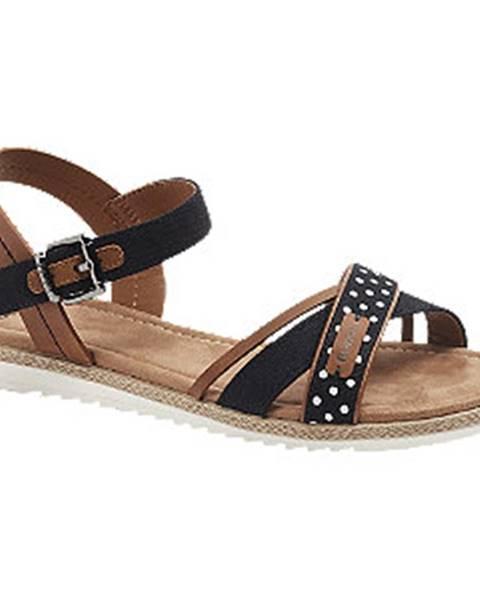 Čierne sandále Bench