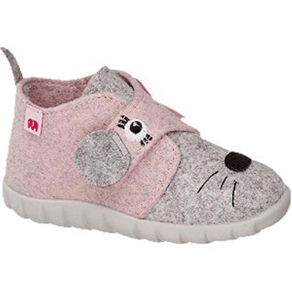 Elefanten Ružovo-sivé papuče