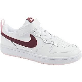 Biele tenisky Nike Court Borough Low 2 (Psv)