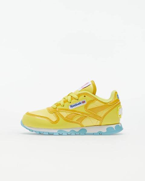 Žlté tenisky Reebok