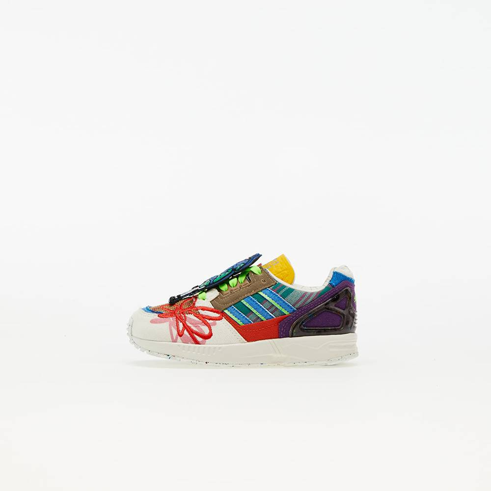 adidas Originals adidas x Sean Wotherspoon ZX 8000 Superearth Infant Off White/ Blue Bird/ Red