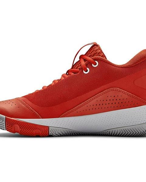 Červené tenisky Under Armour