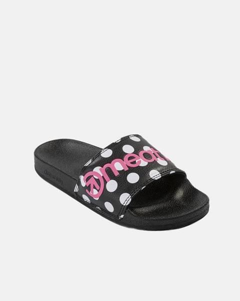 Čierne papuče Meatfly