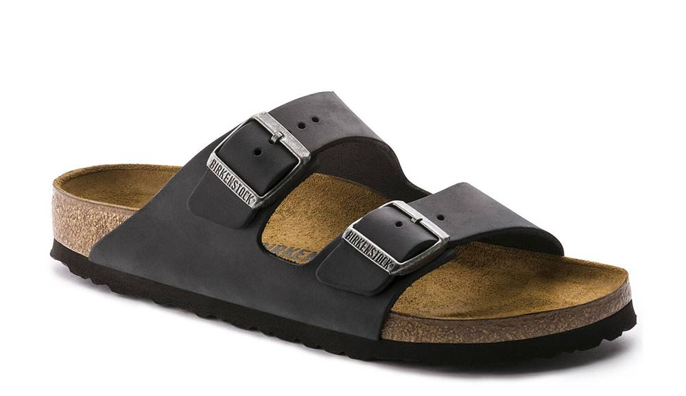 Birkenstock Topánky Birkenstock Arizona NU Oiled Black Regular Fit