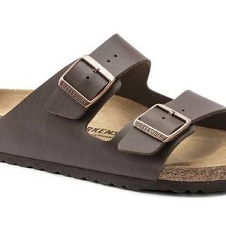 Topánky Birkenstock Arizona BS Dark Brown Narrow Fit