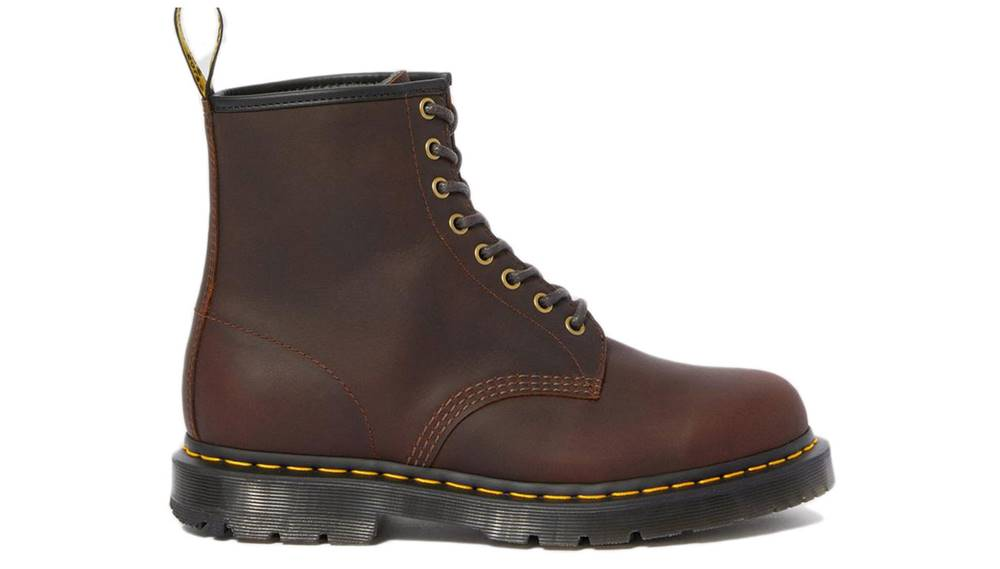 Dr. Martens Topánky  1460 Winter Grip Leather Ankle Boots