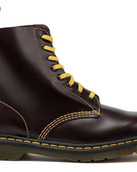 Bordové topánky Dr. Martens