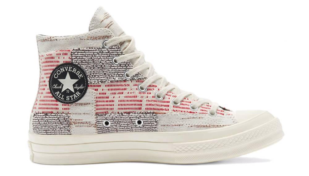 "Converse Tenisky Converse Chuck 70 Hi ""Patchwork"" Artisanal Textiles"