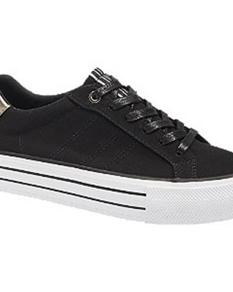 Čierne tenisky Graceland