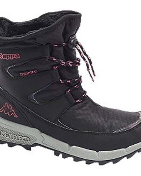 Čierna zimná obuv Kappa
