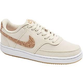 Béžovo-hnedé tenisky Nike Court Vision