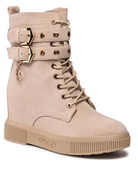 Béžové topánky Quazi