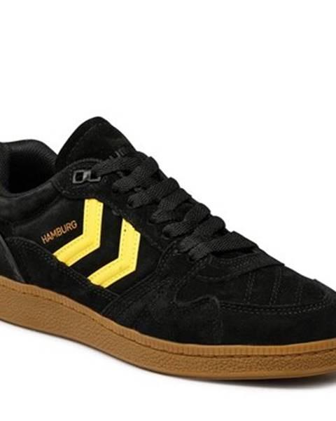 Čierne topánky Hummel