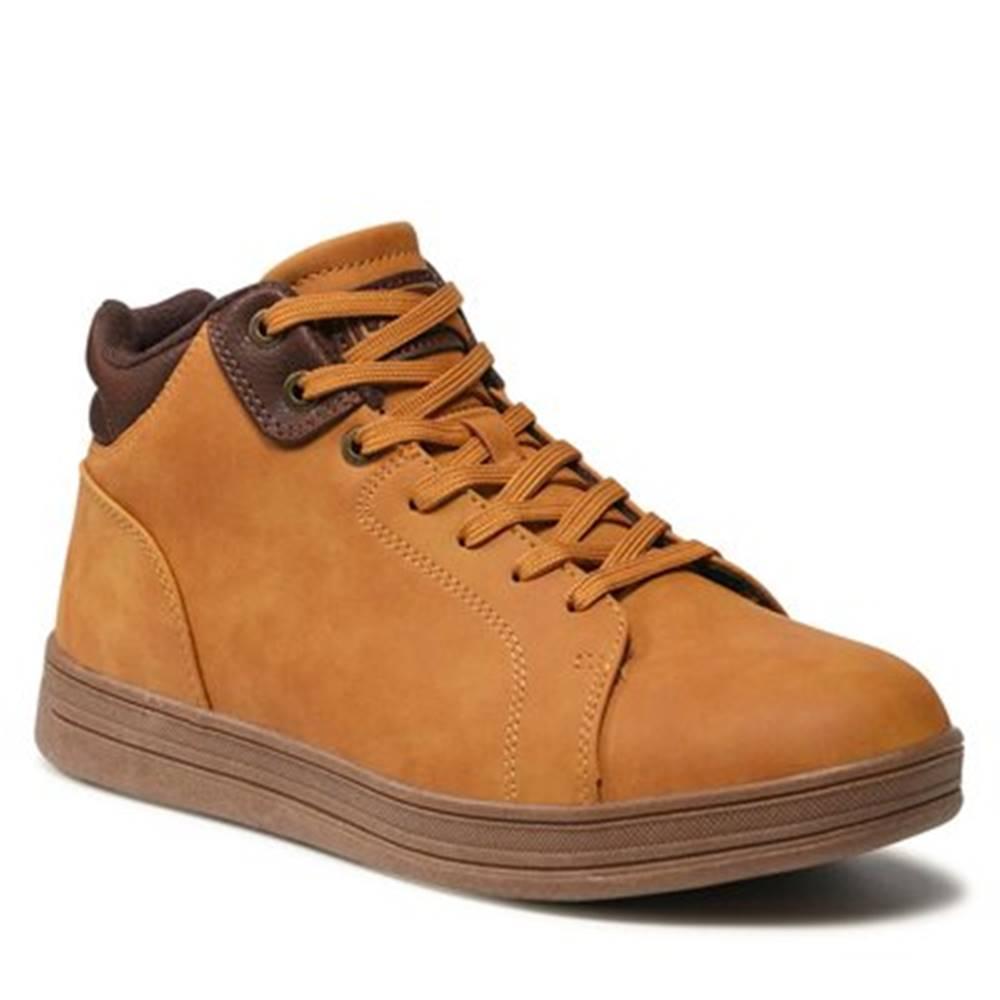 Lanetti Šnurovacia obuv  MP07-01541-01 Imitácia kože/-Imitácia kože