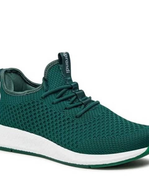 Zelené tenisky Sprandi