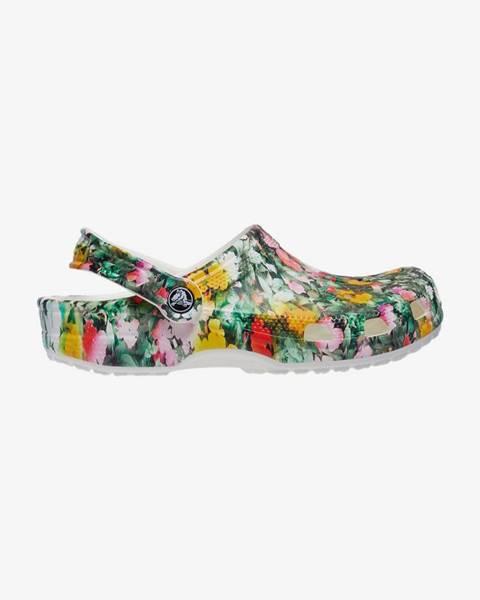 Fialové papuče Crocs