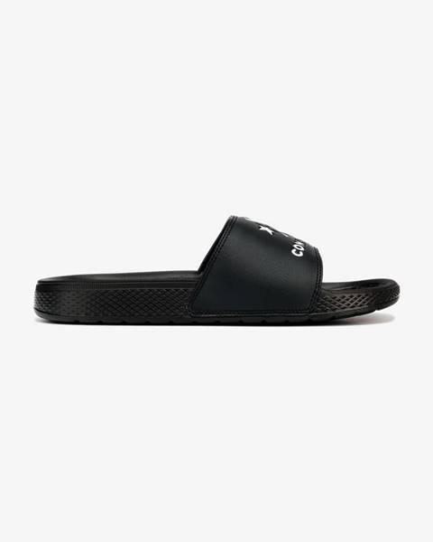 Čierne papuče Converse