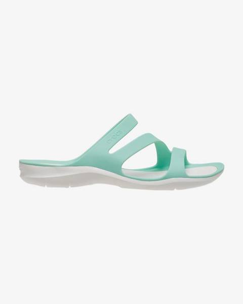 Zelené papuče Crocs