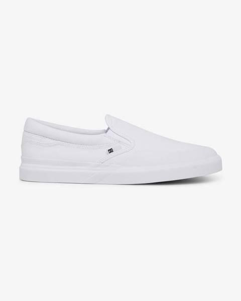 Biele tenisky DC