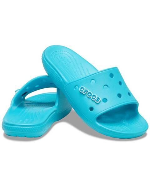 Modré papuče Crocs