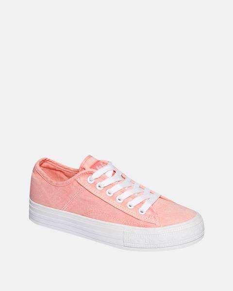 Ružové tenisky lee cooper