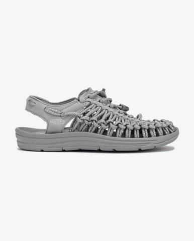 Sivé topánky Keen